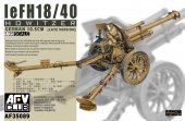 AFV Club 35089 leFH 18/40 10.5cm Howitzer (1:35)
