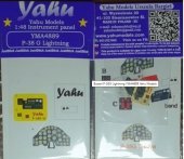 Yahu Models YMA4889 P-38G Lightning 1/48