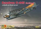 RS Models 92247 Caudron C-445 Goeland Luftwaffe and Slovak service 1/72