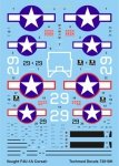 Techmod 72018 - Vought F4U-1A Corsair (1:72)