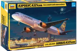 Zvezda 7040 Airbus A321ceo 1/144
