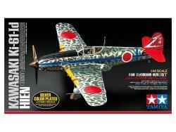 Tamiya 25424 Kawasaki Ki-61-Id Hien (Tony) Silver Color Plated (w/Camo Decals) 1/48