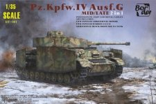 Border Model BT-001 Panzer IV Ausf.G Mid/Late 2in1 1/35