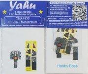 Yahu YMA4853 F-105D (Hobby Boss) 1:48