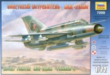 Zvezda 7259 MIG-21 bis Soviet Fighter 1/72