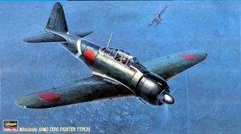Hasegawa JT17 A6M3 Zero Type 22 (ZAKE) (1:48)