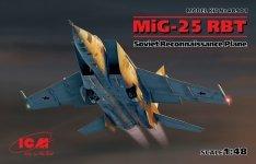 ICM 48901 MiG-25 RBT Soviet Reconnaissance Plane 1/48