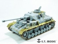 E.T. Model E35-289 WWII German Pz.Kpfw.IV Ausf.H Basic (Mid version) For DRAGON 1/35