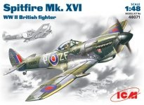 ICM 48071 Spitfire Mk .XVI WWII British fighter (1:48)