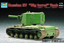 Trumpeter 07236 Soviet KV Big turret tank (1:72)