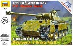 Zvezda 5010 Pz.Kpfw. V Panther Ausf.D (1:72)