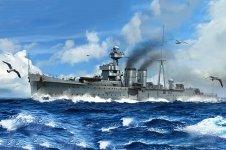 Trumpeter 05362 HMS Calcutta 1/350