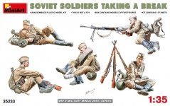 MiniArt 35233 SOVIET SOLDIERS TAKING A BREAK (1:35)