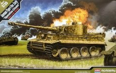 Academy 13509 German Tiger-I Ver. Early Operation Citadel 1/35