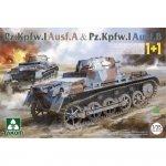 Takom 2145 Pz.Kpfw. I Ausf. A & Pz.Kpfw. I Ausf. B 1/35