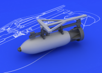 Eduard 648109 Spitfire 500lb bomb set 1/48 (EDUARD)