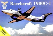 Sova 72005 Beechcraft 1900C-1 Ambulance 1/72