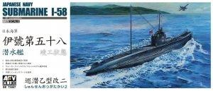 AFV Club 73507 Japanese Navy Submarine I-58
