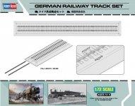 Hobby Boss 82902 German Railway Track Set (1:72)