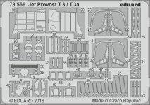Eduard 73566 Jet Provost T.3 / T.3a AIRFIX 1/72