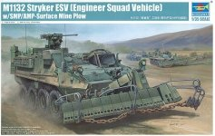 Trumpeter 01575 American M1132 Engineer Squad Vehicle (1:35)