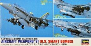 Hasegawa X72-11 US Aircraft weapons VI (1:72)