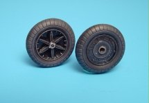 Aires 2005 Bf 109F wheels + paint mask 1/32 Hasegawa