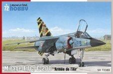 Special Hobby 72388 Mirage F.C1/C-200 Armée de 'I Air 1:72