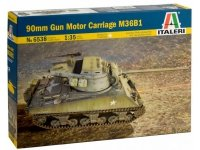 Italeri 6538 90mm Gun Motor Carriage M36B1 1/35
