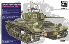 AFV Club 35178 British Infantry Tank Mk.III Valentine Mk.I (1:35)