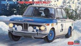 Hasegawa 20332 BMW 2002 ti Monte Carlo Rally 1969 1/24