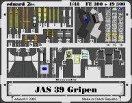 Eduard FE300 JAS-39 Gripen 1/48 Italeri