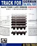 AFV Club 35093 WORKABLE Track link for WWII German Tiger I Late Version 1/35