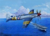 Trumpeter 02851 Supermarine Seafang F.MK.32 (1:48)