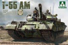Takom 2041 T-55 AM RUSSIAN MEDIUM TANK 1/35