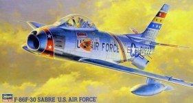 Hasegawa PT13 F-86F-30 SABRE U.S. AIR FORCE (1:48)