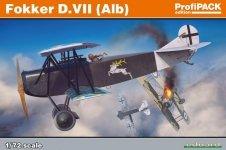 Eduard 70134 Fokker D. VII (Alb) 1/72