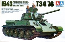 Tamiya 35059 Russian T34/76 1943 Production Mode (1:35)