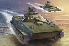 Trumpeter 00382 Polish PT-76B Amphibious Tank (1:35)