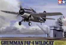 Tamiya 61034 Grumman F4F-4 Wildcat (1:48)