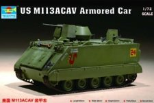 Trumpeter 07237 US M 113ACAV Armored Car (1:72)