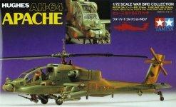 Tamiya 60707 Hughes AH-64 Apache (1:72)