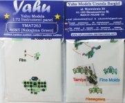 Yahu YMA7263 A6M5 Nakajima Green (Tamyia / Hasegawa / FM) 1:72