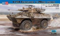 Hobby Boss 82420 V-150 Commando w/20mm cannon (1:35)