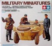 Tamiya 35253 German Panzer Division Frontline Reconnaissance Team (1:35)