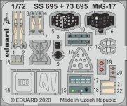 Eduard SS695 MiG-17 1/72 AIRFIX