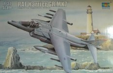 Trumpeter 02287 BAe Harrier GR.7 (RAF service) (1:32)