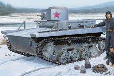 Hobby Boss 83820 Soviet T-37TU Command Tank (1:35)