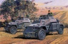 Dragon 7393 Sd. Kfz.222 Leichte Panzerspahwagen (1:72)