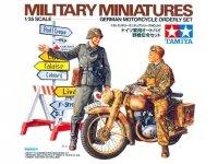 Tamiya 35241 German Motorcycle Orderly Set (1:35)